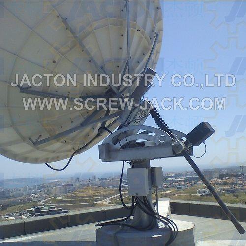 dish antenna azimuth gear jack,satelite dish worm gear screw