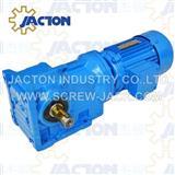 0.18KW Helical-bevel Gearmotor Specifications