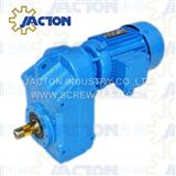 0.25KW Parallel Shaft Helical Gearmotor Specifications