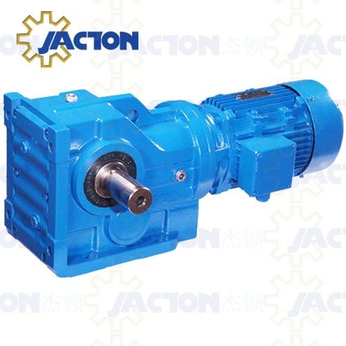 Helical worm gearmotor specifications gear motor for Hollow shaft worm gear motor