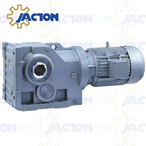 S47 sa47 sf47 saf47 saz47 sat47 helical worm gearmotor for Hollow shaft gear motor