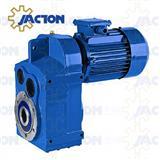 F107 FA107 FF107 FAF107 FAZ107 Parallel Shaft Helical Gearmotor