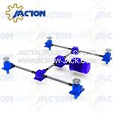 miniature motorized acme screw shaft systems