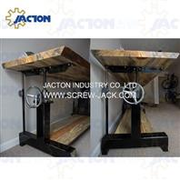 hand crank table base lift mechanism,crank handle lifting