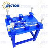 table lift screw and gear drive