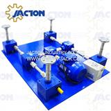 worm jack gear and screw system