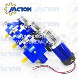 motor with worm gear lift