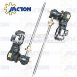 electronically operated synchronized screw jack