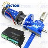 acme threaded rods and electric drive motors