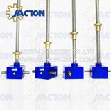lead screw jack driven scissor lift mechanism