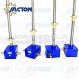 ball screw or acme screw jack lifting system for scissor lift table