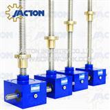synchronized lifting screw jack type scissor lift