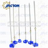 Screw Jack Systems For Aircraft Wing Lifting Trolley