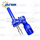 low backlash gear drive system precision jack screw in elevation