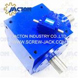 right angle gearbox for industrial mower