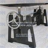 manual hand cranked screw jack motion platform