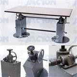 hand crank screw jacks synchronize table