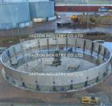 Electric Jack System for Commercial Storage Tank