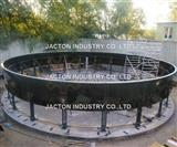 Design and develop motorized jack system for the larger water tanks