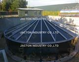 Synchronized Lifting System Installed Bolted Water Storage Tanks