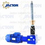 Electric screw jacks lifting mechanism 10 tons