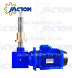 motorized travel nut rotating screw lift jack 20 ton