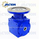 Hollow shafts and mounting flanges gearboxes