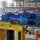 Train carriages mobile lifting jack