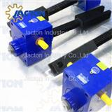 Compact acme screw jacks with fork end